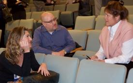 Anya Kamenetz, Oren Shefet and Cris Rowan