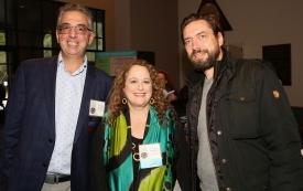 Dimitri Christakis, Pam Hurst Della-Pietra and Klaus Wolfling