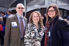 Doug Gentile, Pam Hurst Della-Pietra and Sandra Calvert