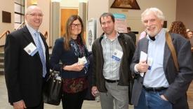 Doug Gentile, Sandra Calvert, Tom Hummer and Craig Anderson