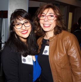 Jessica Mendoza and Nayra Vacaflor