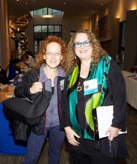 Justine Cassell and Pam Hurst Della-Pietra