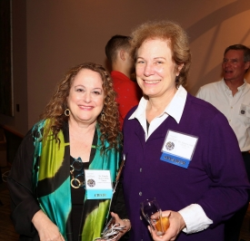 Pam Hurst Della-Pietra and Hilarie Cash