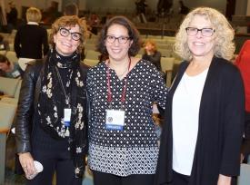 Sherry Emery, Jennifer Manganello and Vicky Rideout