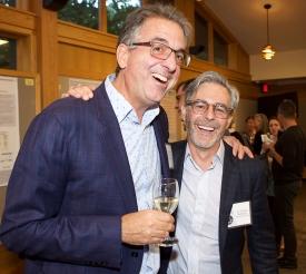 Dimitri Christakis and Tom Robinson