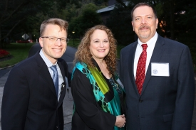 Paul Weigle, Pam Hurst Della-Pietra and Jim Griffin