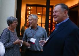 Donna Mitroff, Dan Anderson, Michael Rich