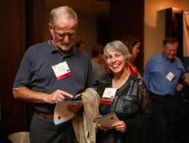Victor Strasburger and Jane Brown