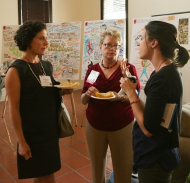 Angela Campbell, Samatha Graff, Arielle Lasky