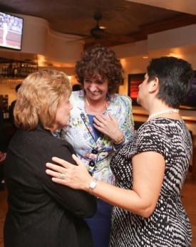 Barbara Wilson, Patti Valkennburg, Rosemarie Truglio