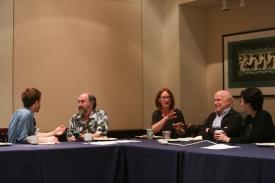 Tristan Harris, Larry Rosen, Amanda Lenhart, Dan Romer and Naomi Baron
