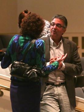 Dimitri Christakis and Patti Valkenberg