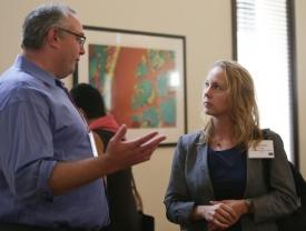 David Bickham and Elizabeth Hoge