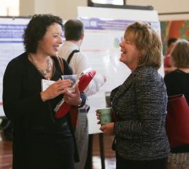 Katharine Heintz and Barbara Wilson
