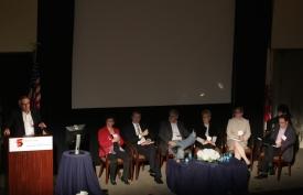 Charles O'Brien, Kimberly Young, Douglas Gentile, David Strayer, Stephanie Brown, Megan Moreno and Koh Young Sam