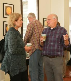 Hillarie Cash and David Stopak