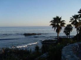 View from Las Brisas restaurant