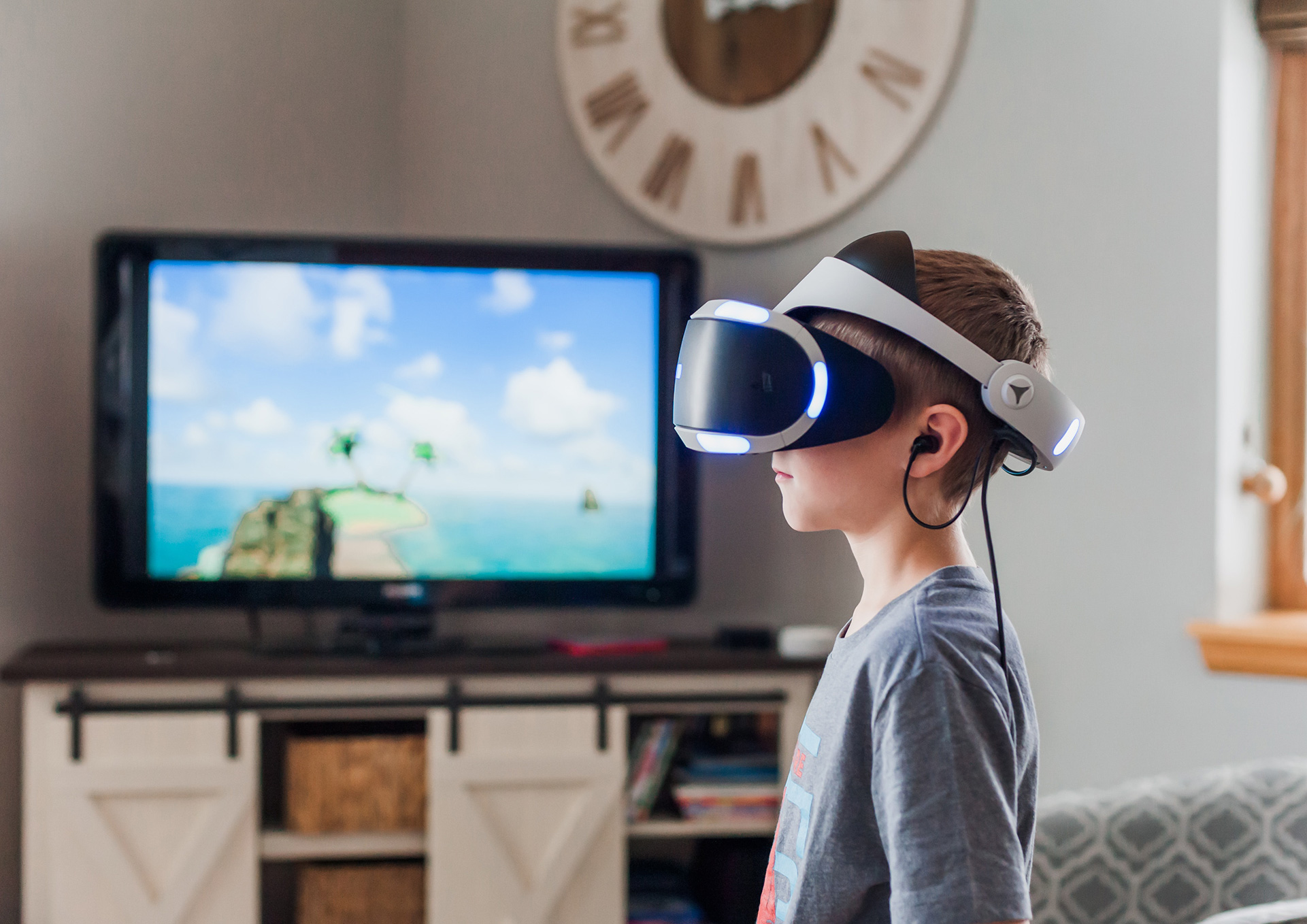 The Effect of Narrative on Physical Activity via Immersion During Active Video Game Play in Children, Mediation Analysis, March 2020